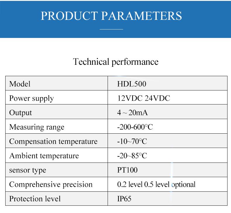 RTD Pt100 Temperature Sensor 3 Wire -200C to 450C Thermal Resistance Thread Tri-Clamp Temperature sensor