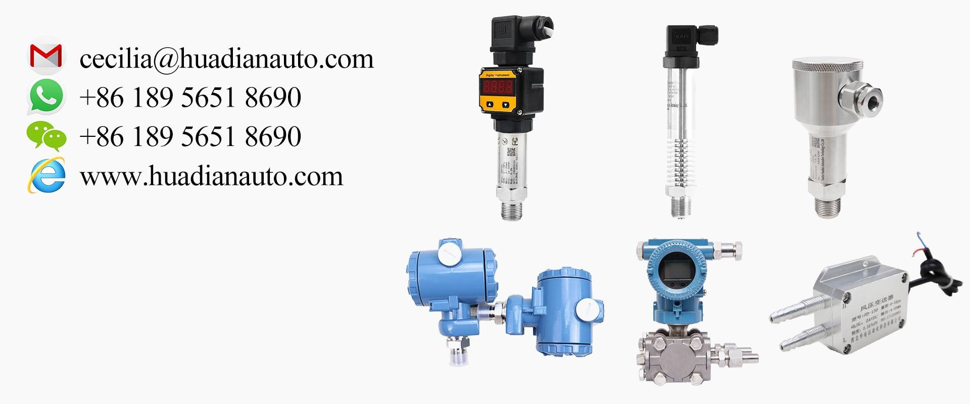 oil pressure sensor 4-20mA Pressure Transmitter G1/2 Hirschmann connector